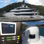 Dual SeaTel 5004 Preventive Maintenance in Christopher Harbor, St Kitts